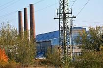 Aktuální pohled na sklářský podnik Crystalex CZ v Novém Boru.