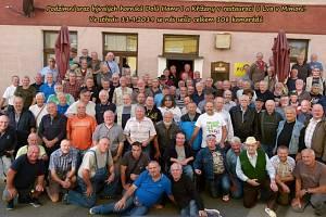 Podzimní sraz bývalých horníků Dolů Hamr I a Křížany v restauraci U Lva v Mimoni. Ve středu 11. 9. se tu sešlo celkem 108 kamarádů.
