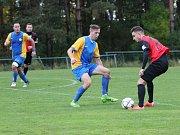Jenišovice - Lokomotiva Česká Lípa 4:0 (2:0).