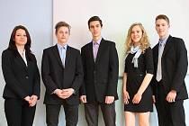 Ve středoškolské kategorii poměřily své schopnosti dva týmy, oba z jedné školy – ze Soukromé podnikatelské střední školy v České Lípě.