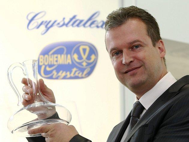 Crystalex v jeho nové éře rozkvětu kormidluje Martin Kubát, generální ředitel.