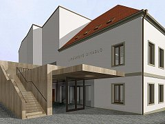 Takto mohlo vypadat Jiráskovo divadlo v České Lípě. Opravovat se ale zatím nebude.