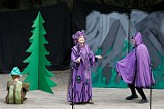 Lesní divadlo ve Sloupu tento týden zahájilo letošní sezonu.