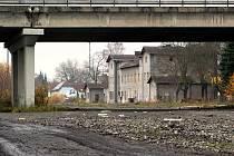 Brownfield bývalého nádraží Česká Lípa - město.