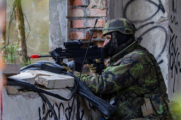 Zhruba 300českých a amerických vojáků nacvičovalo  28.dubna dobytí letiště Hradčany ve vojenském prostoru Ralsko na Českolipsku vrámci dvoudenního cvičení Saber Junction 2017.Cílem cvičení bylo natrénovat postupy ispolupráci samerickými jednotkami.
