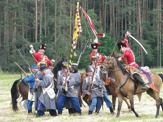 Rekonstrukce prusko-rakouské války z roku 1866 v Kuřívodech