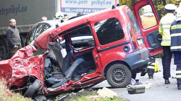 K tragické nehodě došlo mezi Oborou a Bezdězem také letos v říjnu.