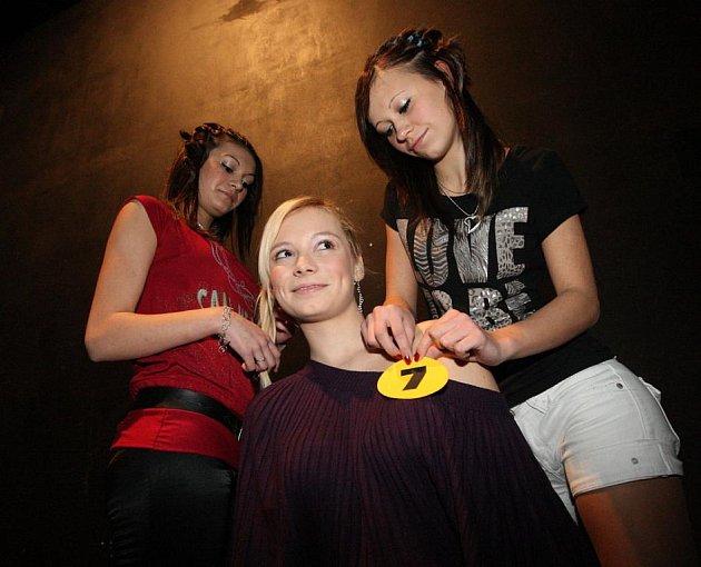 Na nedělním soutěžním odpoledni Dívky roku 2010 se v děčínském městském divadle sešlo osm děvčat.