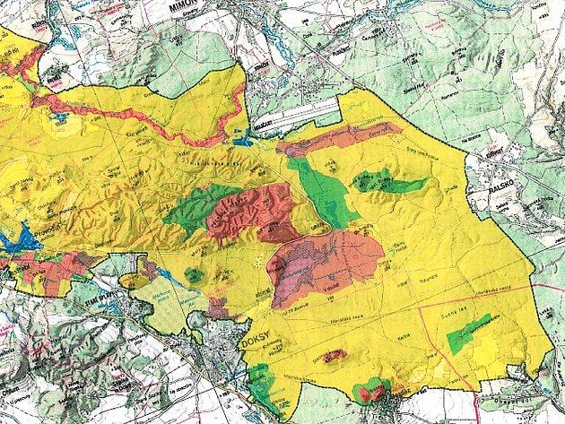 Budoucí podoba chráněné krajinné oblasti Kokořínsko Máchův kraj.
