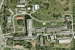 Areál českolipské nemocnice.