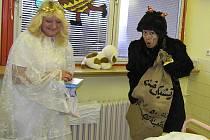 O mikulášskou nadílku nepřišly ani děti, které tyto tráví v českolipské Nemocnici s poliklinikou.
