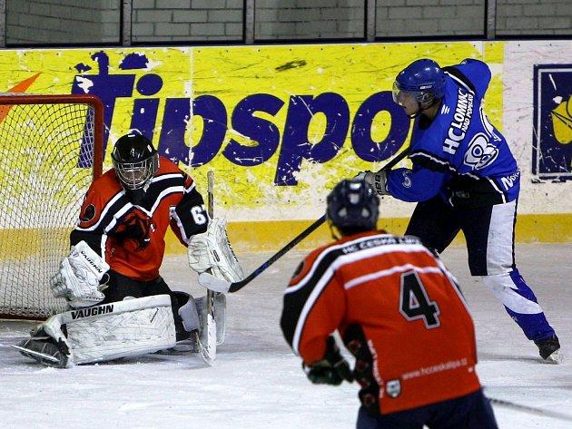 Hokejisté Lípy opět měřili síly s Lomnicí.
