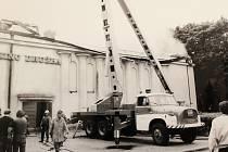 V neděli 30. června to bude 38 let od požáru, který zničil prakticky celou budovu kina Družba v Novém Boru. V seriálu Jak jsme žii ukážeme fotografie z požáru i obnovy kina, které se znovu otevřelo divákům v roce 1989.