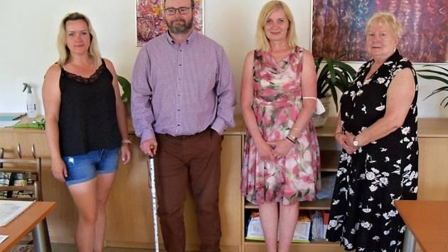 Do výboru byli zvoleni Zofia Doškářová, Karla Jínová, Ladislav Hlavinka a Jana Szittyayová.