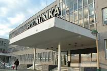 Budova polikliniky ve Stráži pod Ralskem.