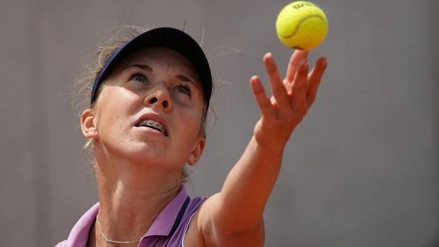 Česká tenistka Linda Nosková se po Paříži prosadila i v Doksech, došla až do semifinále.