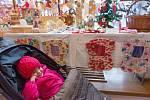 Vánoční trhy v českolipském muzeu.