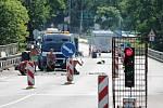 Oprava silnice. Ilustrační snímek.