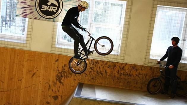 Skatepark a bikepark ve Stráži pod Ralskem slavil pět let svého fungování.