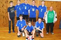 Starší žáci českolipské Lokomotivy.