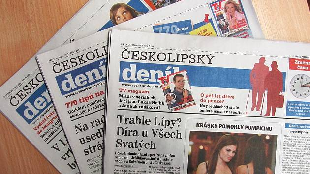 Českolipský deník.