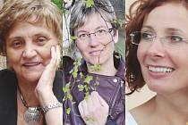 Ženou regionu může být Eva Barkmanová z České Lípy, Regína Krchňáková z Mimoně i Petra Vlčková z Nového Boru (zleva).