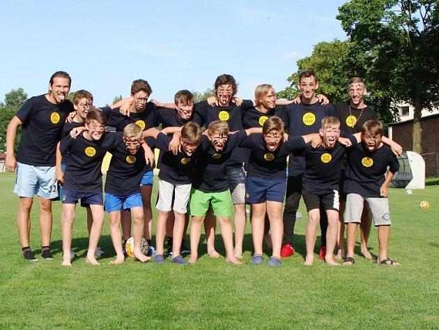 Fotbalového kempu vČeské Lípě se zúčastnila dvacítka hráčů od mladších žáků po dorostence.