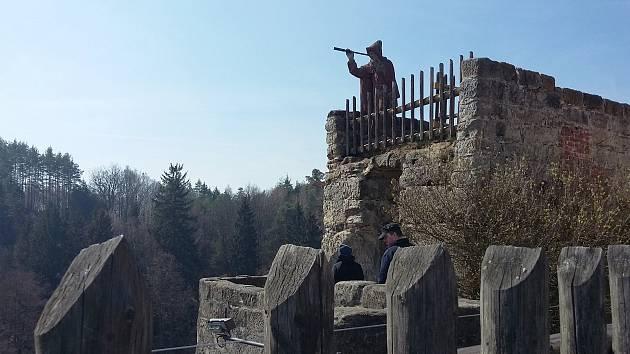 Ilustrační foto - Hrad Sloup v Čechách