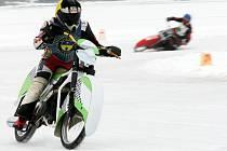 Mezinárodní mistrovství České republiky na ledové ploché dráze v Hamru na Jezeře.