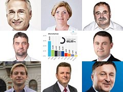 Noví poslanci za Liberecký kraj.