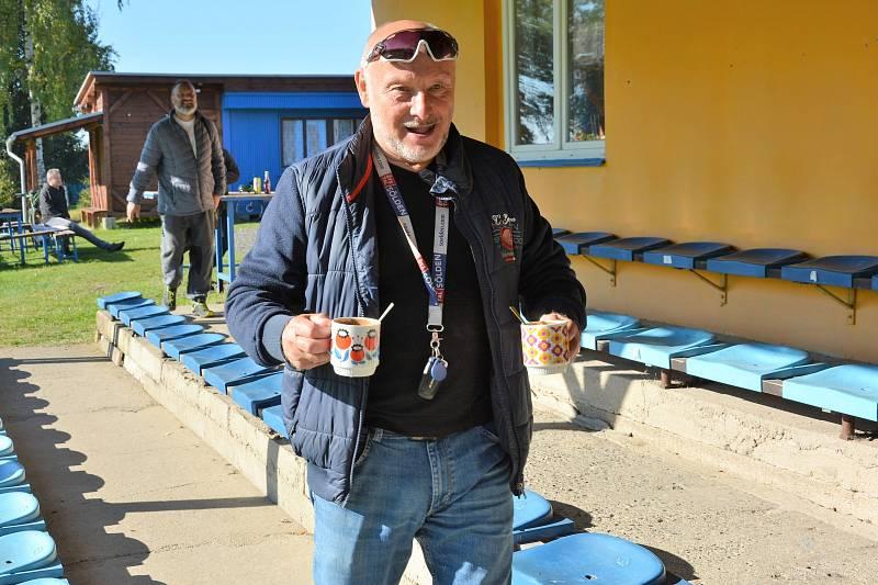 Ve Skalici u České Lípy skládali hold spoluhráči Jiřímu Štěpánkovi