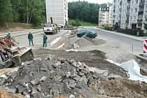 Sídliště Rumburských hrdinů v Novém Boru mládne. Díky kompletní rekonstrukci, která pokračuje už od roku 2013.