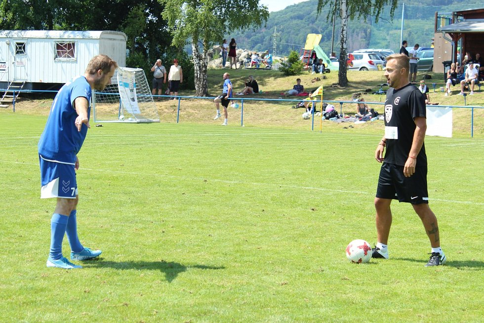 Fotbalový turnaj ve Skalici. Ilustrační foto.