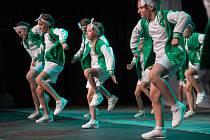 Tanečníci předvedli profesionální show.
