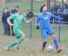Fotbalisté Doks zakončili podzimní část v krajském přeboru remízou na půdě Bílého Kostela.