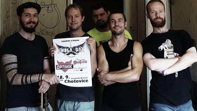 Illusions, českolipská rock-popová kapela, se vrací v kompletní sestavě.