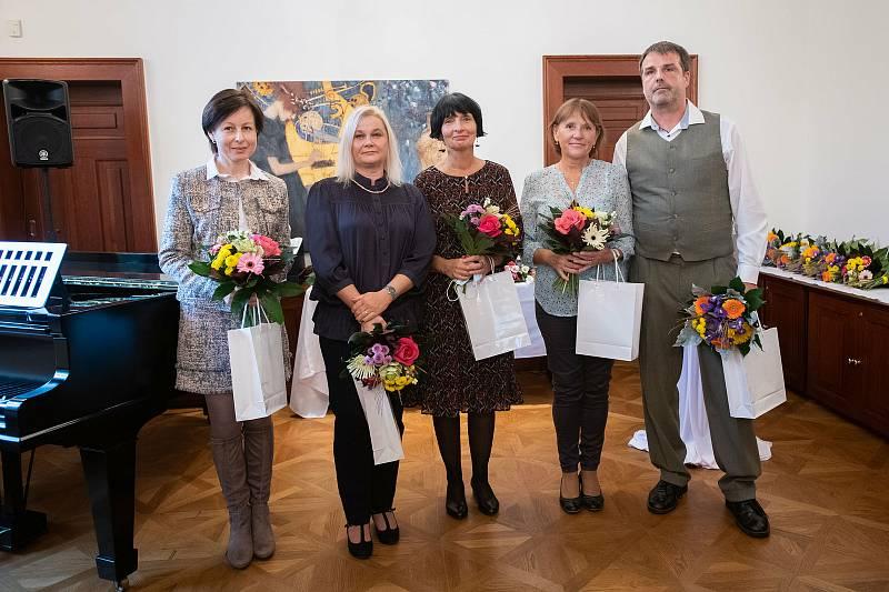 Poděkování starostky České Lípy přijalo pět osobností.
