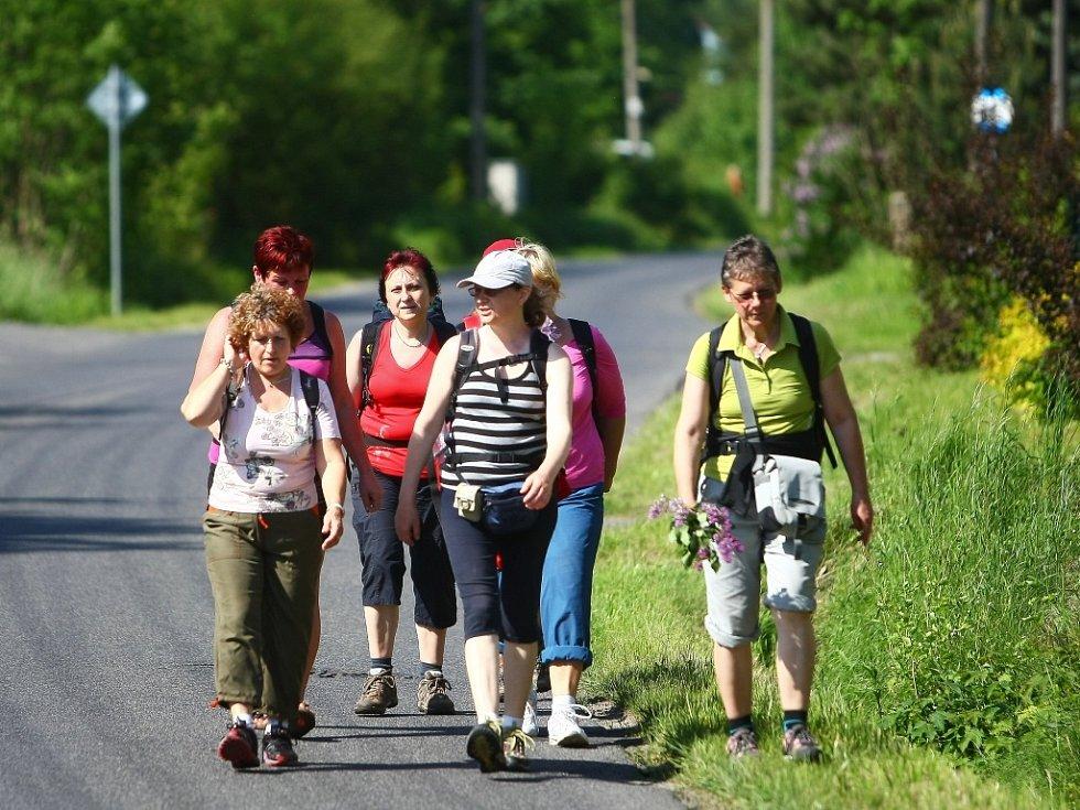 Cesta začala 9. května v Ravensbrücku a skončila 22. května v Novém Boru.