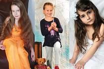 Nikola, Kateřina, Viktorie.