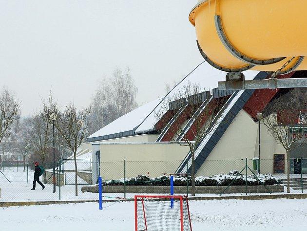 Venkovní koupaliště by mělo vyrůsta u Sportareálu.