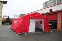 Nový nafukovací záchranářský stan TAG RS s příslušenstvím nyní vlastní dobrovolní hasiči z Nového Boru.
