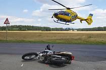Vážná nehoda u Ploužnice.