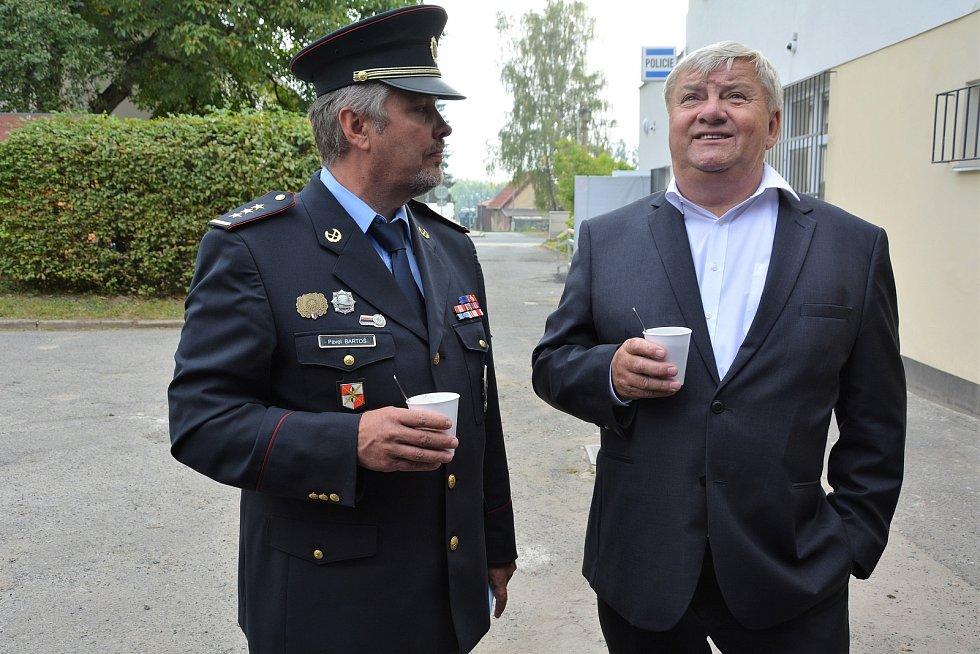 Otevření nově zrekonstruovaného obvodního oddělení Policie ČR ve Cvikově