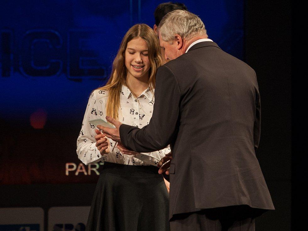 Dvojnásobná medailistka z mistrovství ČR v plavání Markéta Musilová (PK Česká Lípa) získala 8. místo mezi mládeží.