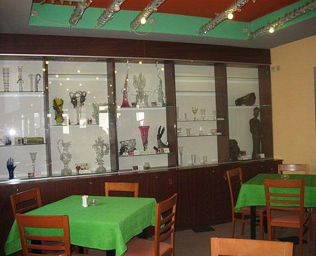 Restaurace Ajeto v Novém Boru.