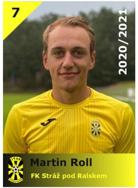 Martin Roll - fotbalista FK Stráž pod Ralskem.