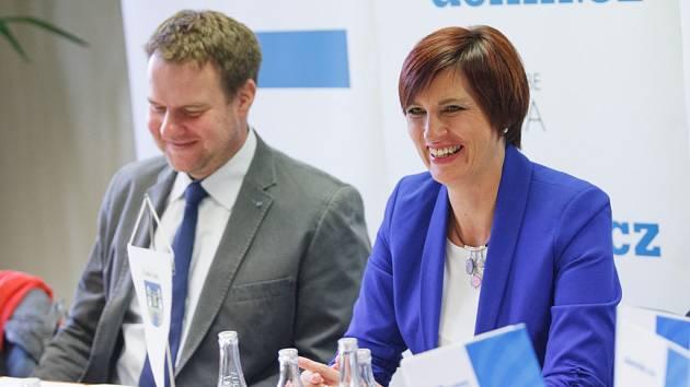Moderovaná diskuze Setkání se starostkou České Lípy.