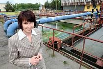 Projektantka Iveta Žabková začala novou čistírnu odpadních vod připravovat už v roce 2002. Nyní začíná rekonstrukce, která staré části postupně zmodernizuje.