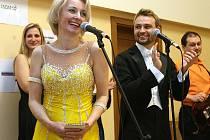 První městský ples pod organizační taktovkou Podještědských Pardálů se odehrál ve Společenském centru v Jablonném v Podještědí.
