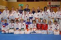 Z prvního kola Regionálního poháru přivezl Sport Relax více jak třicet medailí